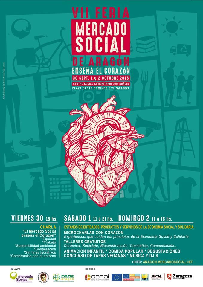 VII Feria Mercado Social Aragón