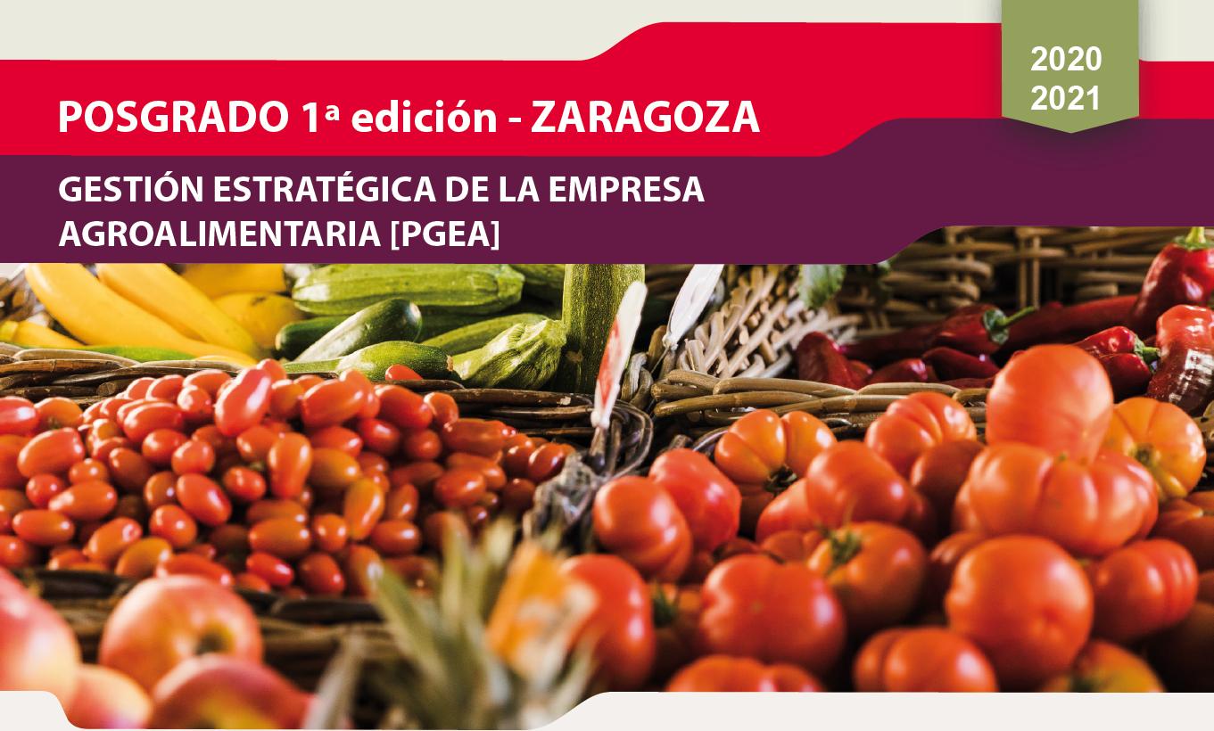 Posgrado gestión estratégica de la empresa agroalimentaria